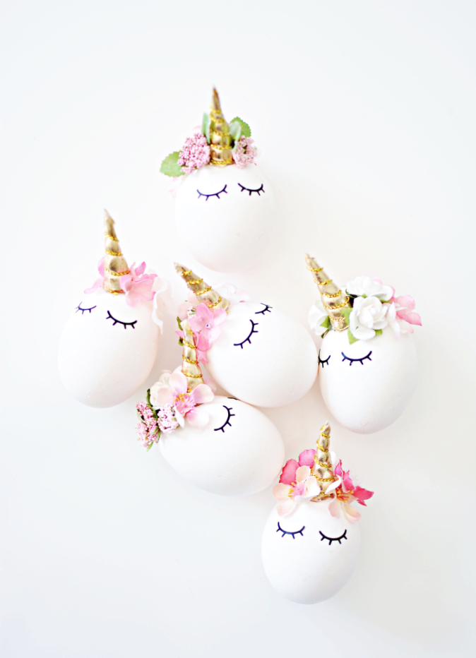 DIY unicorn pâques licorne unicorn