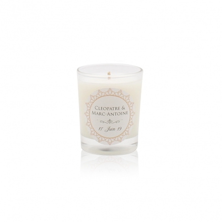 Cleopatre-wedding-candle