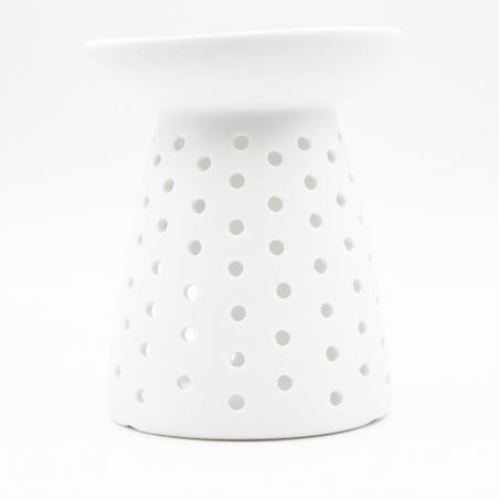 wax-burner | minimal-decoration-white-ceramic