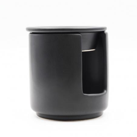 brûleur-parfum   céramique-noir-décoration-intérieur