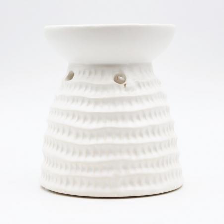 wax-heater | white-ceramic-beehive