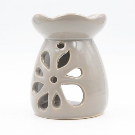 candle-burner | home-decoration-grey-flowers
