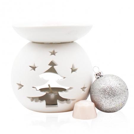 """Brûle-parfum modèle """"Sapin de Noël"""" grand"""
