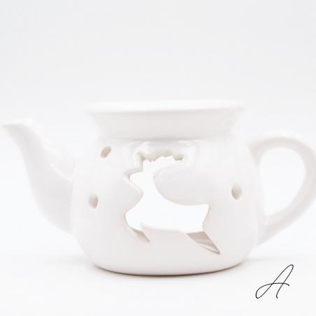 brule-parfum-noel   décoration-intérieur-maison-renne-noel-théière-blanc