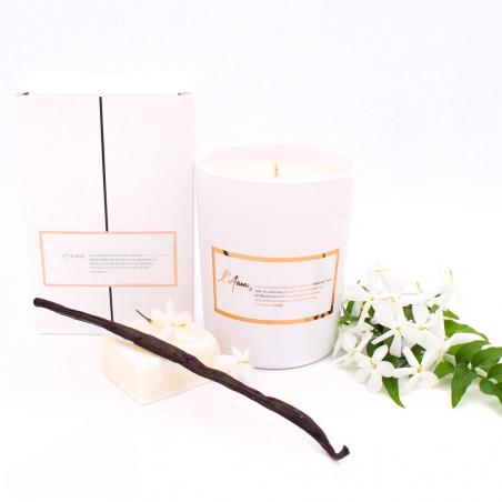 Natural-candle | jasmine-vanilla