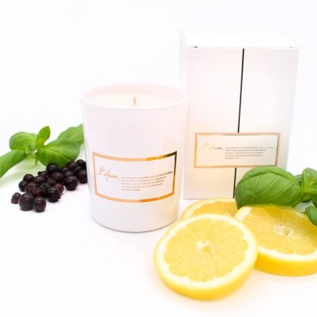 Bougie-parfumée-naturelle   bougie-cassis-citron-basilic