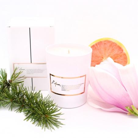 Bougie-cadeau   magnolia