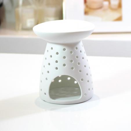 diffuseur-huiles-essentielles | décoration-minimaliste-épurée-céramique-blanc