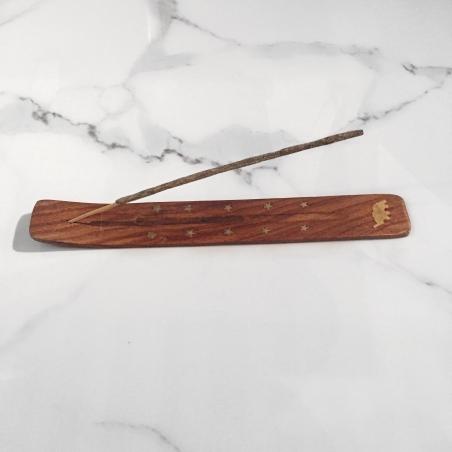 Porte-encens en bois