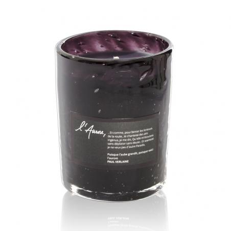 Scented candle PUISQUE L'AUBE GRANDIT (tuberose, orange blossom, cedar)