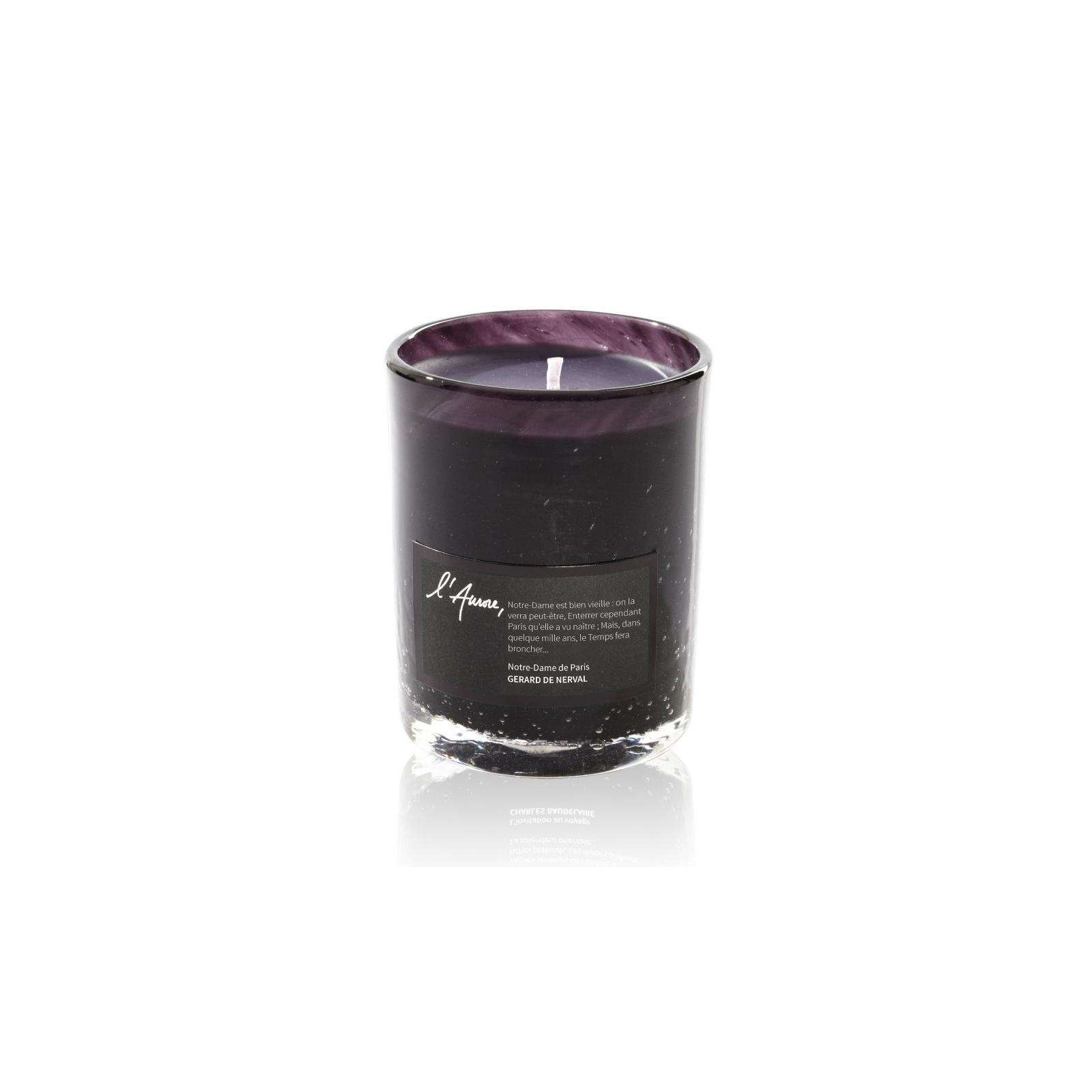 Scented candle NOTRE DAME (vanilla, patchouli, papyrus)