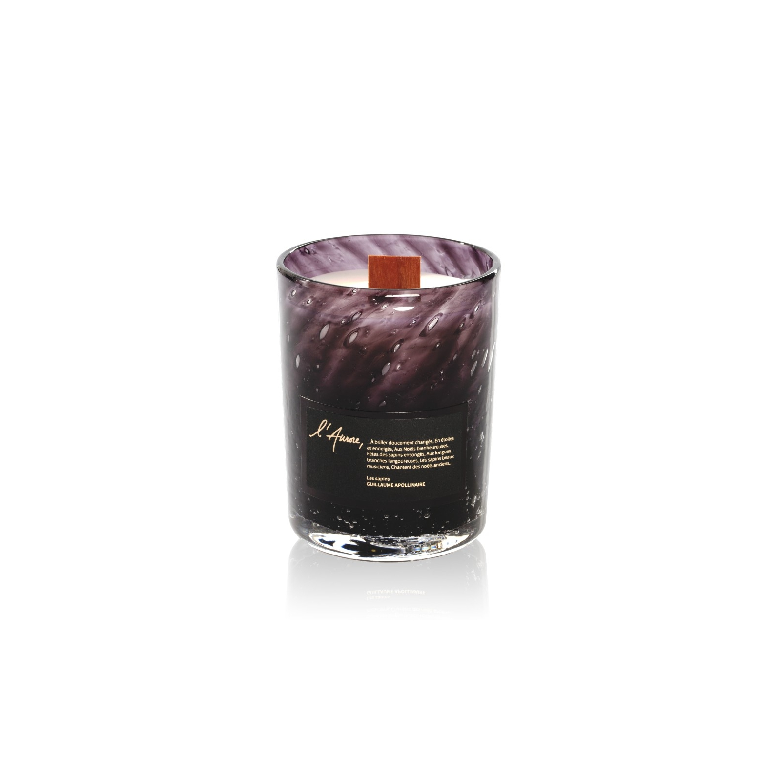 Scented candle LES SAPINS (biscuit, gingerbread, cinnamon)