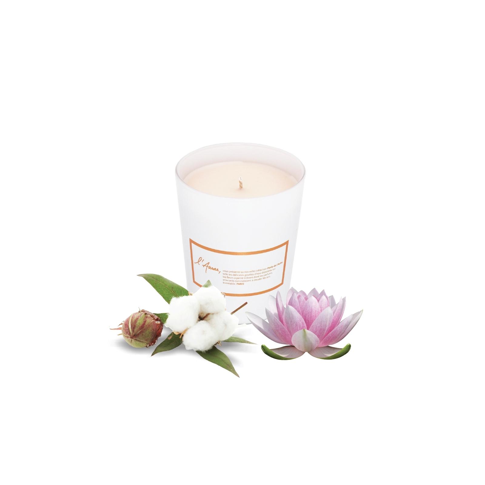 FRAICHEUR D'ASIE (fleur de coton et lotus)