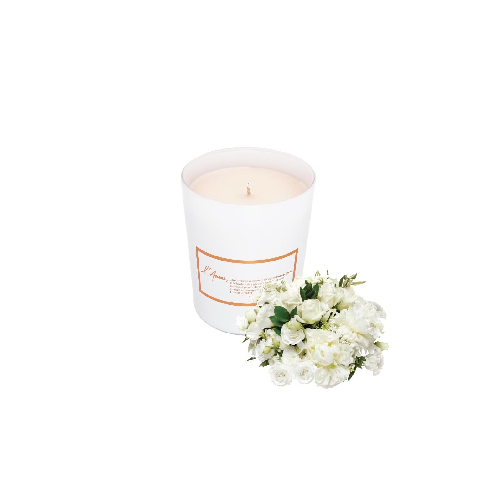 MERVEILLE DISPARUE (fleurs blanches)