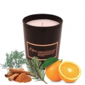 Scented candle SOLSTICE D'HIVER (Orange, Cedar, Cinnamon)