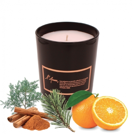 SOLSTICE D'HIVER (orange, cèdre, cannelle)