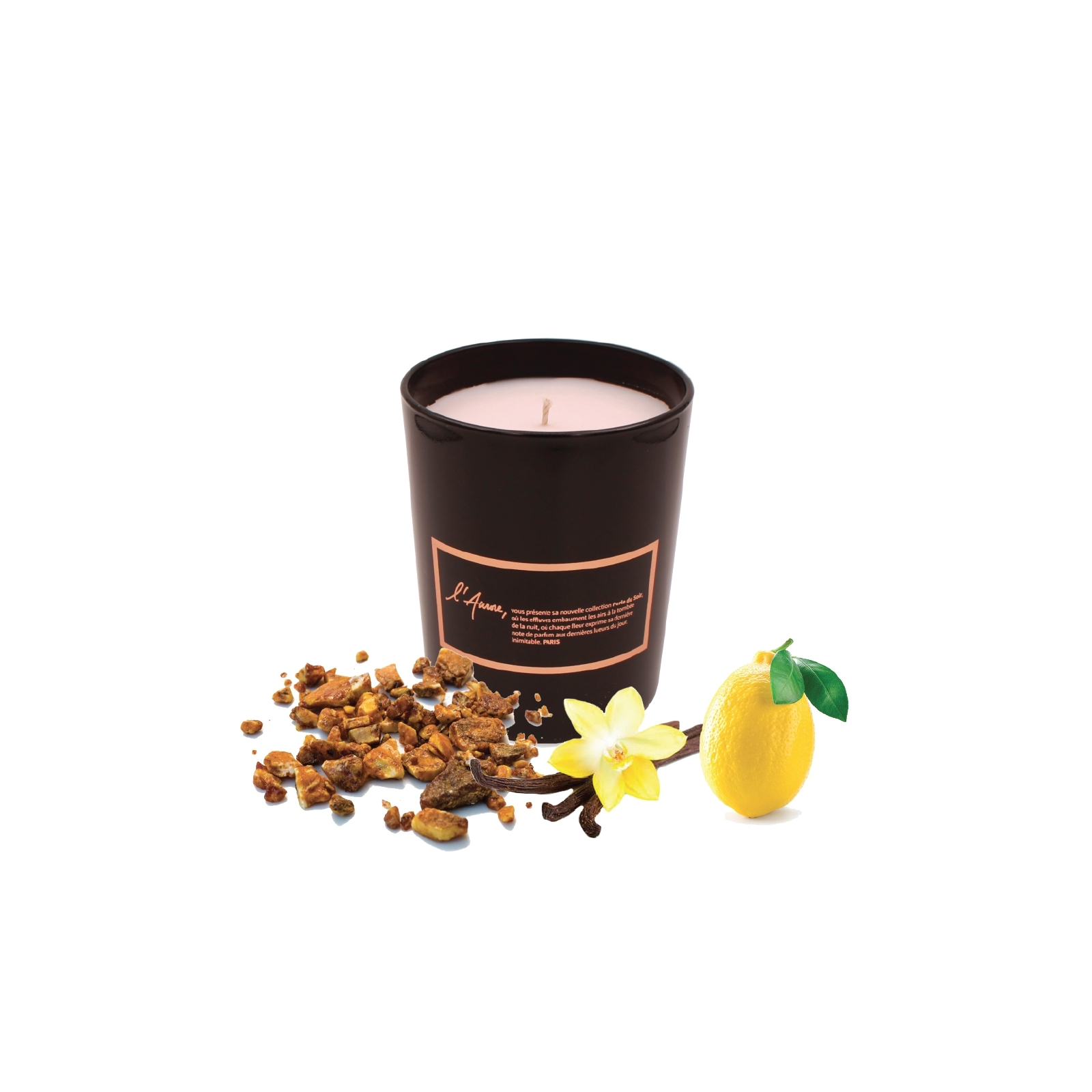 Scented candle REVE D'UNE NUIT D'ORIENT (amber)