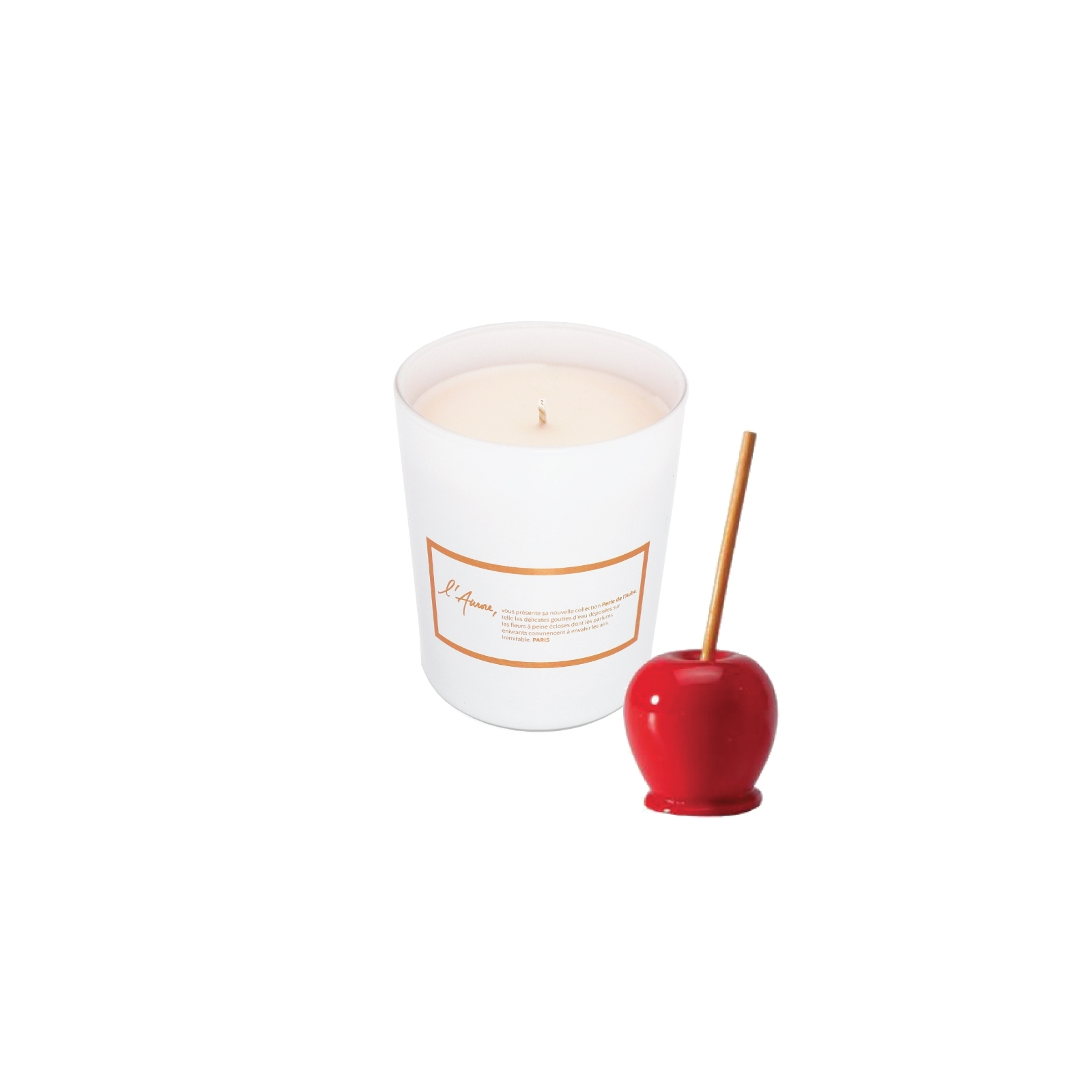 Scented candle PECHE OUBLIE (Candy Apple)