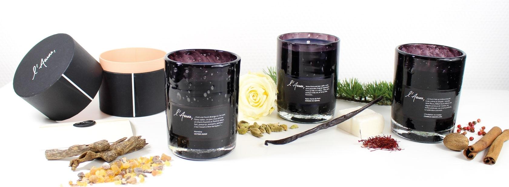 Luxury candles | L'Aurore Paris