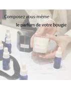 Composez le parfum de votre Bougie