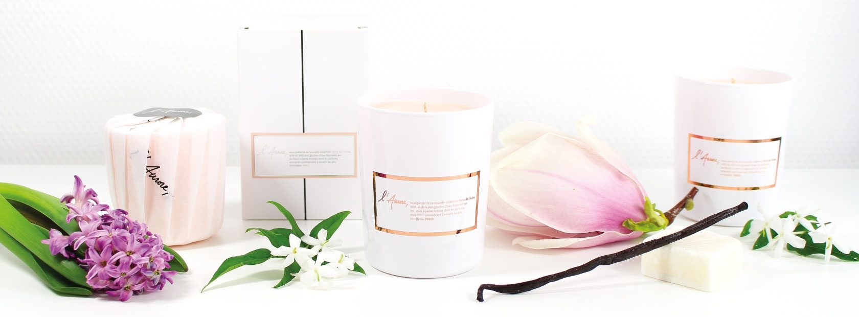 Scented candles | L'Aurore Paris
