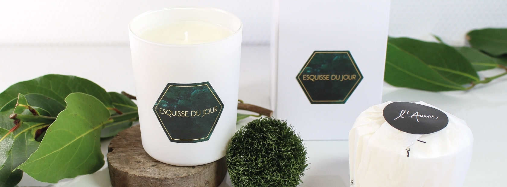 Natural candle | L'Aurore Paris