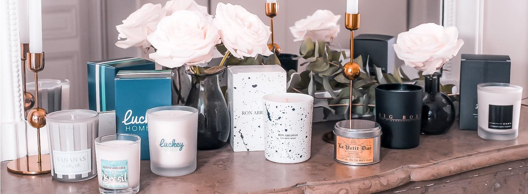 Personalized candles | L'Aurore Paris